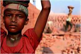 types of child labour in india