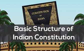 The Doctrine of Basic Structure of the Indian Constitution